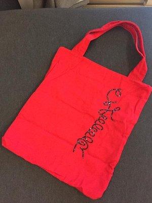 極限量 陳綺貞演唱會周邊 購物包 購物袋 紅色 絕版品