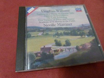 Vaughan Williams:Theme by Tallis,Greensleeves,Lark Ascending