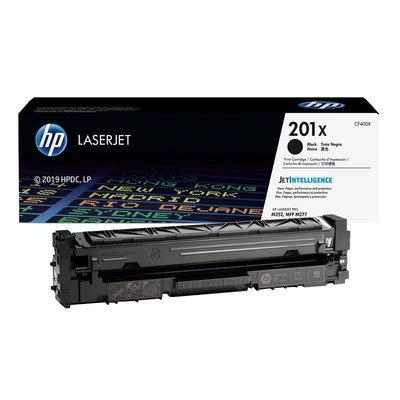 HP 201X 原廠高印量黑色碳粉匣