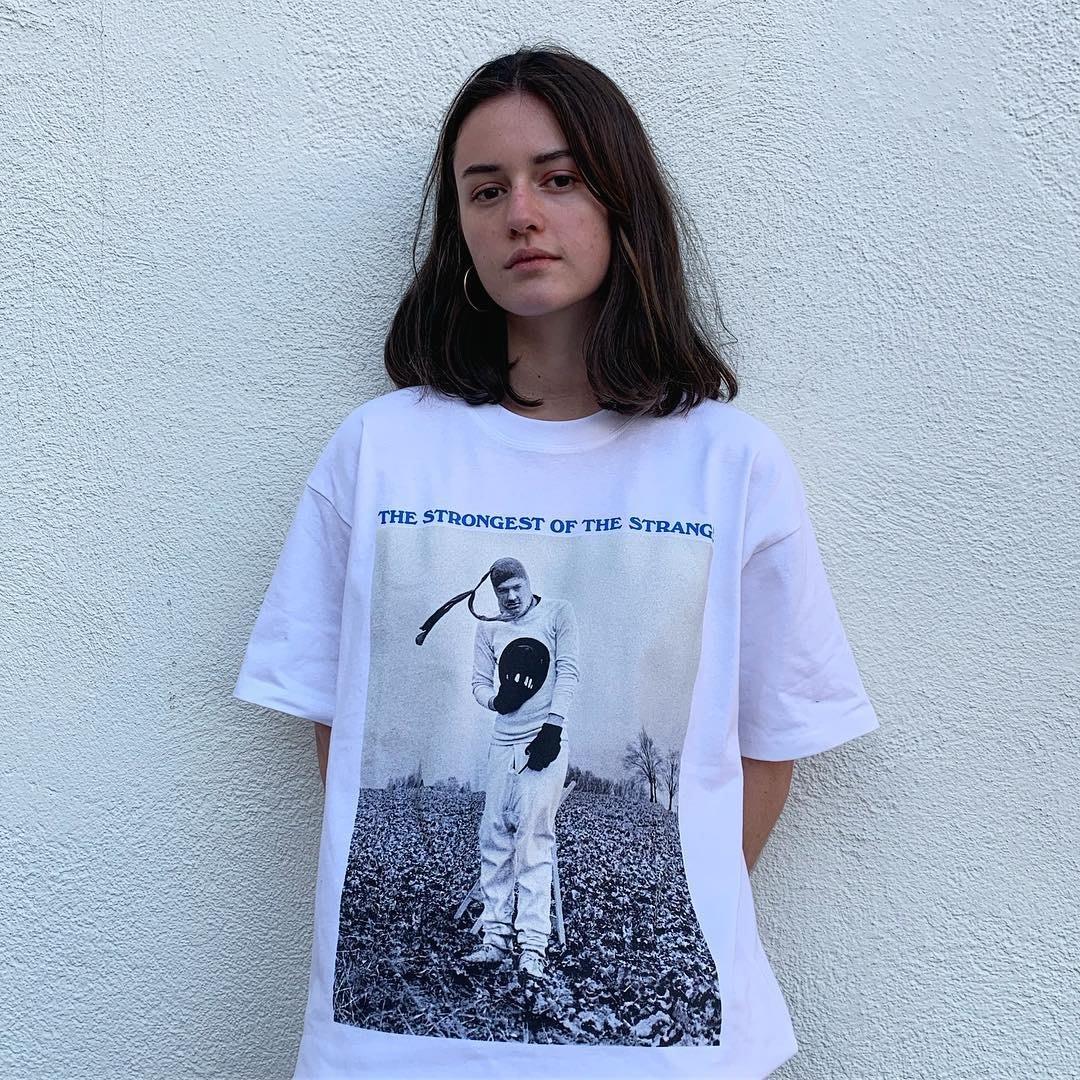 Kako正韓潮流男裝潮物Woo Polar Skate Co The Strongest Tee 印花圖案短袖情侶T恤