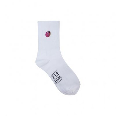 ☆AirRoom☆【現貨】2016 WHITE BLANK Junk Village Socks 甜甜圈 長襪 白