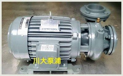【川大泵浦】東元渦流馬達3HP*2P三相永大抽水機。抽水馬達。冷氣循環用馬達-永大泵浦 台灣製