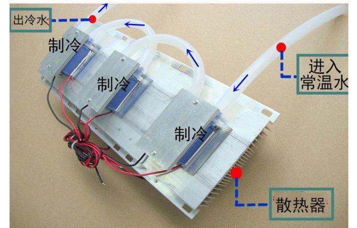 DC12V/180W 水冷模組+DC12V 20A電源供應器 接AC110V就可以用