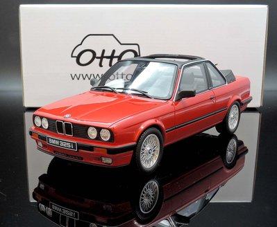 【M.A.S.H】現貨特價 OTTO 1/18 BMW E30 Baur  Brilliant Rot