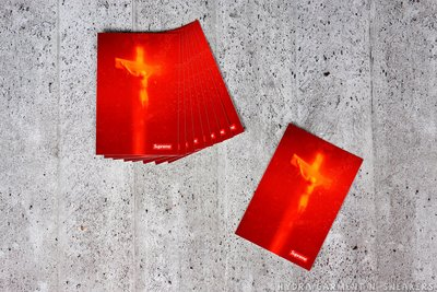 【HYDRA】Supreme Andres Serrano Piss Christ Sticker 貼紙【SUP089】