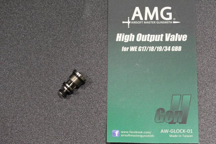 【翔準軍品AOG】AMG WE G17/18高校出氣閥 AWGLOCK01