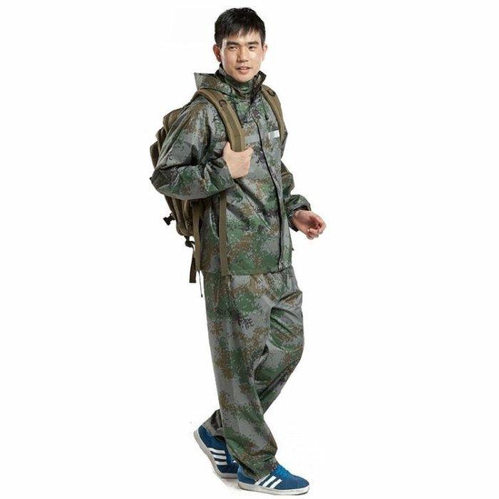 ☜男神閣☞雨褲雨衣套裝防水電動摩托車電瓶車單人男女成人徒步加大加厚騎行