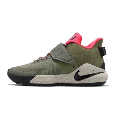 FOCA  NIKE LEBRON AMBASSADOR XII BQ5436-300 綠色 籃球鞋 LBJ 運動鞋 男