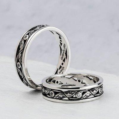 戒指 荷魯斯之眼泰銀戒指女925銀個性潮人網紅簡約食指戒復古單身尾戒 米可