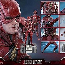 HOT TOYS MMS448 Justice League 正義聯盟 The Flash 閃電俠 1/6 figure