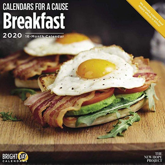 【丹】A_2020 Breakfast Wall Calendar by Bright Day 早餐 風格 掛曆 月曆