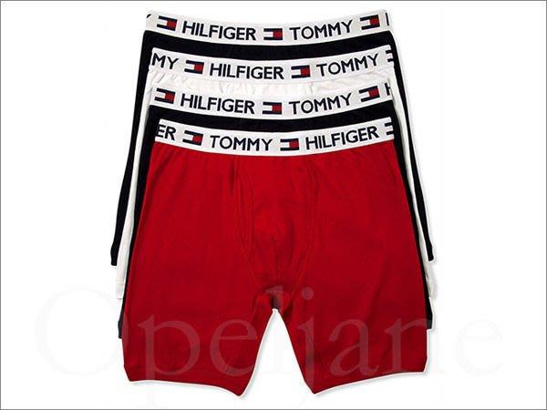 美國真品保證 Tommy Hilfiger Boxer 四件一組 4色棉質內褲 四角平口褲 內褲L號  愛Coach包包