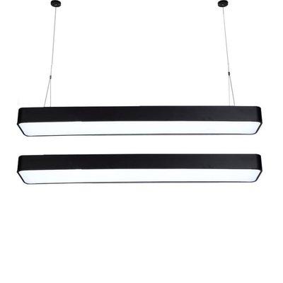 吊燈 LED長條辦公室長方形簡約現代吸頂燈臥室超市商場學校吊線燈 - 限時優惠