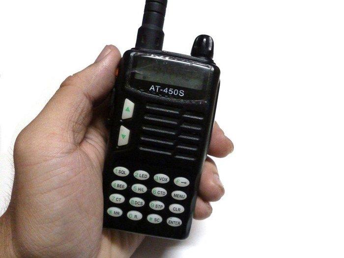 ☆手機寶藏點☆AnyTone AT-450S UHF 單頻 無線電 對講機 《附原廠電池+天線》功能正常 jj167