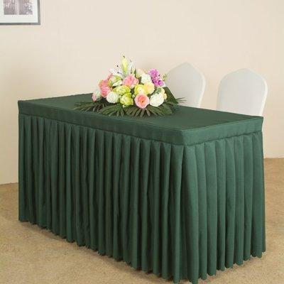 [可開發票]-會議桌布桌套長方形臺布臺裙酒店辦公展會活動長條桌巾 【3C創意生活館】