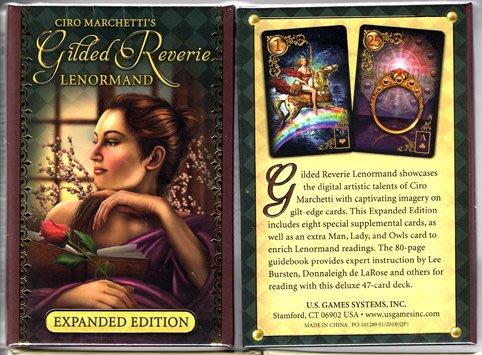 [牌的世界]亮金夢想雷諾曼卡 Gilded Reverie Expanded Edition(47張)