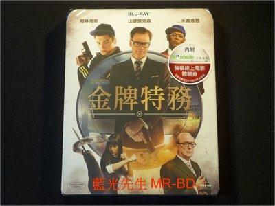 [藍光先生BD] 金牌特務 Kingsman : The Secret Service ( 得利公司貨 )