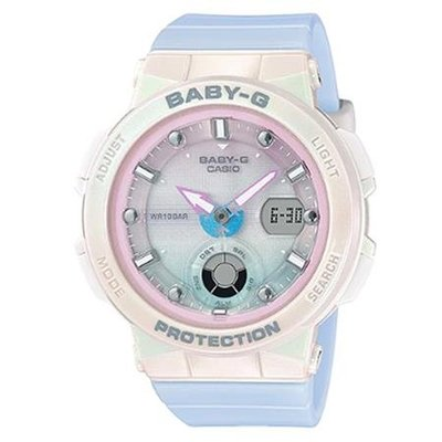 門市正貨 - 全新 Casio watch BABY G BGA-250 BGA-250-7A3 霓虹照明 手錶