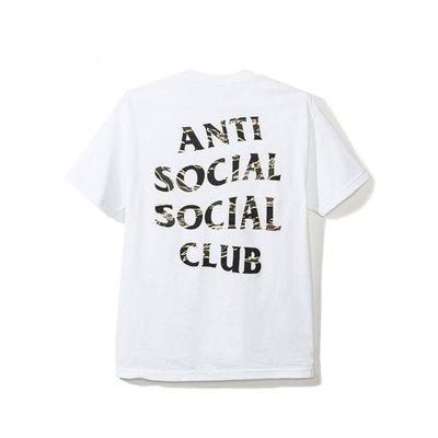 【日貨代購CITY】Anti Social Social Club 經典 LOGO 迷彩