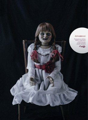 ArtLife @ Annabelle Conjuring Horror Movie Prop 安娜貝爾 1:1電影道具