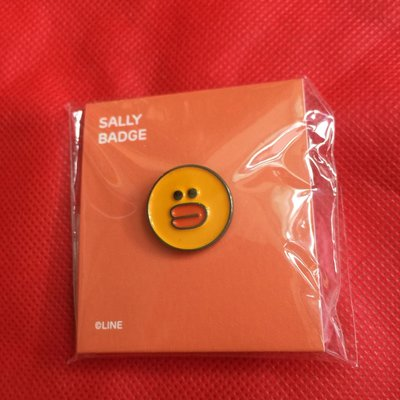 Line Friends SALLY badge