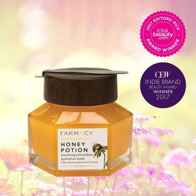 美國天然品牌 FARMACY Honey Potion 溫感蜂蜜煥膚滋潤面膜 50g