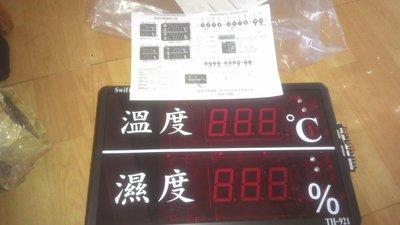 大型溫度濕度顯示面板SWIFTECH(全新品)