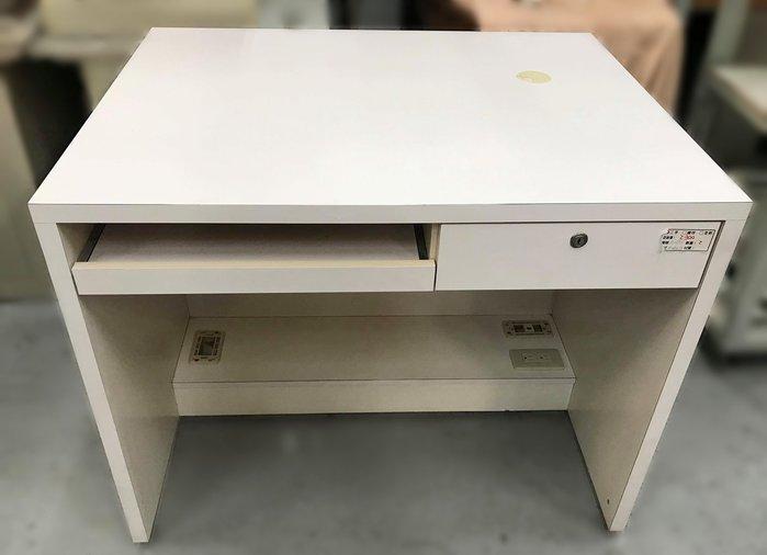 【宏品二手家具館】 2手家具賣場 E32003*白色書桌*中古臥室家具拍賣 床組 床墊 床架 床板 床箱 床頭櫃
