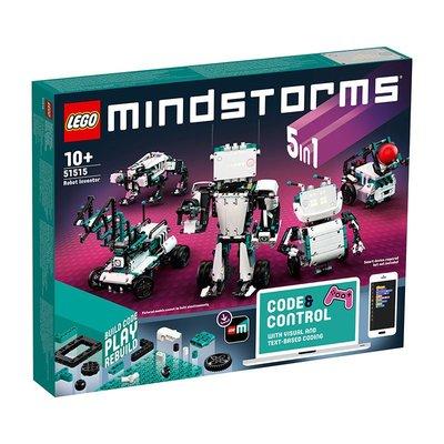 【免郵珍藏版】台灣-【LEGO】樂高積木拼裝玩具全新第四代頭腦風暴5合1機器人51515