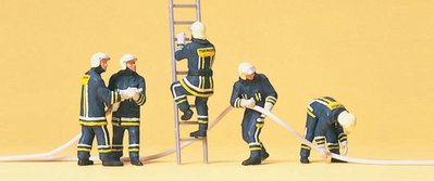 傑仲 (有發票) 博蘭 公司貨 Preiser 人物組 Firemen. Extinguishing 10485 HO