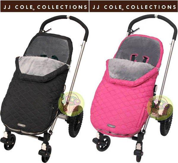 【JPGO 】歐美品牌JJ COLE COLLECTIONS Bundleme Toddler嬰幼兒手推車保暖腳套~黑#046/粉#060