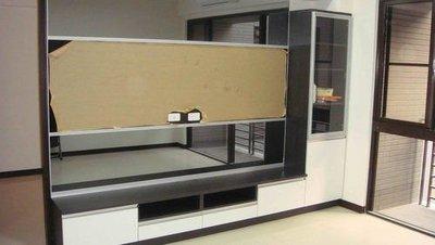 歐雅系統家具 系統櫃 , 上下灰鏡 中...