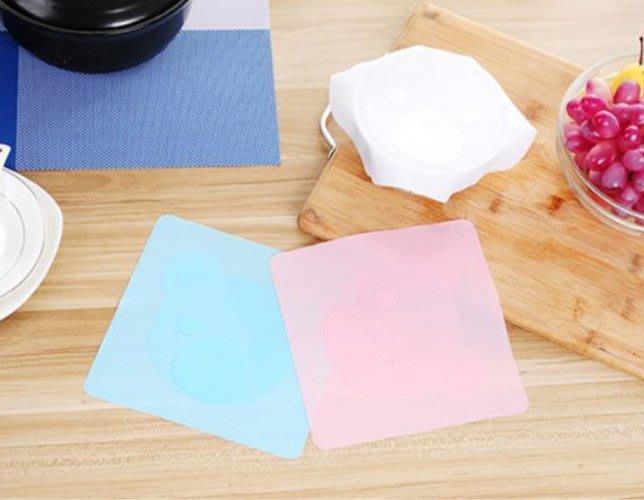 【省錢博士】可愛卡通多功能矽膠保鮮膜蓋/冰箱保鮮碗蓋 29元