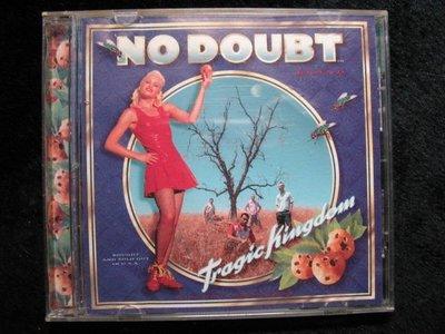 No Doubt 不要懷疑合唱團 - Tragic Kingdom 悲慘王國 - 1995年歐洲版 - 81元起標