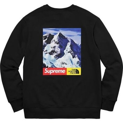 eccc0ac8bca7 【日貨代購CITY】2017AW Supreme THE NORTH FACE MOUNTAIN CREWNECK 現貨