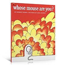 英文原版啟蒙繪本 Whose Mouse Are You 你是誰的老鼠?兒童英語啟蒙繪本故事書 寶寶睡前故事 2-4-6