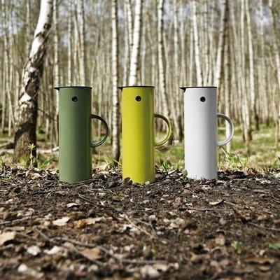 【台中熊店長】丹麥 Stelton Vacuum Jug 1.0L 啄木鳥 真空保冰保溫瓶  EM 77 萊姆