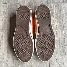 Converse All Star 1970S 匡威低幫透氣休閒運動帆布板鞋 男女生經典硫化鞋 熒光橘 破壞羽紗鞋帶