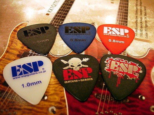 ☆ 唐尼樂器︵☆超酷 ESP 電吉他用彈片/ PICK  (Fender/ Gibson/ Jackson/ PRS/ Suhr 等適用)