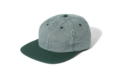 "[ LAB Taipei ] LITE YEAR ""GINGHAM SIX PANEL CAP"" (Green)"
