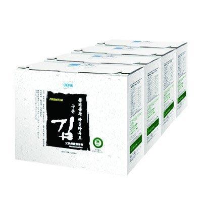 韓國海苔艾多美Atomy 香烤 海苔 一盒24包(小片裝) (1箱4盒)宅配免運 過年過節送禮自用兩相宜生日禮物 現貨