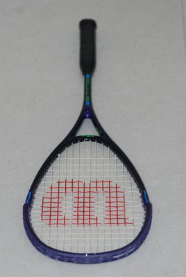 Wilson Sting Graphite Squash Racquet 碳 纖 維 壁 球 迴 力 球 拍 180g