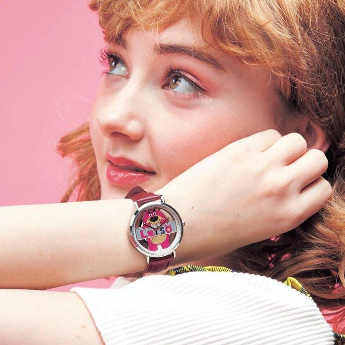 迪士尼Disney《預購》熊抱哥 鏤空石英錶~日本製~心心小舖