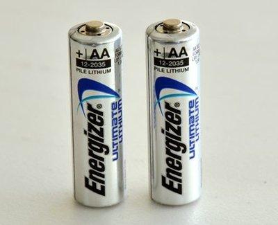 Energizer 勁量 L91 AA 鋰電池 3號  單顆價 (年份新,使用期限15年以上)