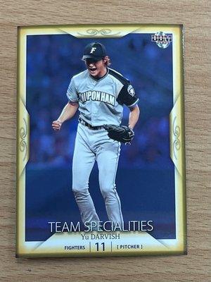 MLB/日本火腿鬥士強投 - 達爾比修有 (09BBM系列二,TEAM SPECIALITIES,NO.737)