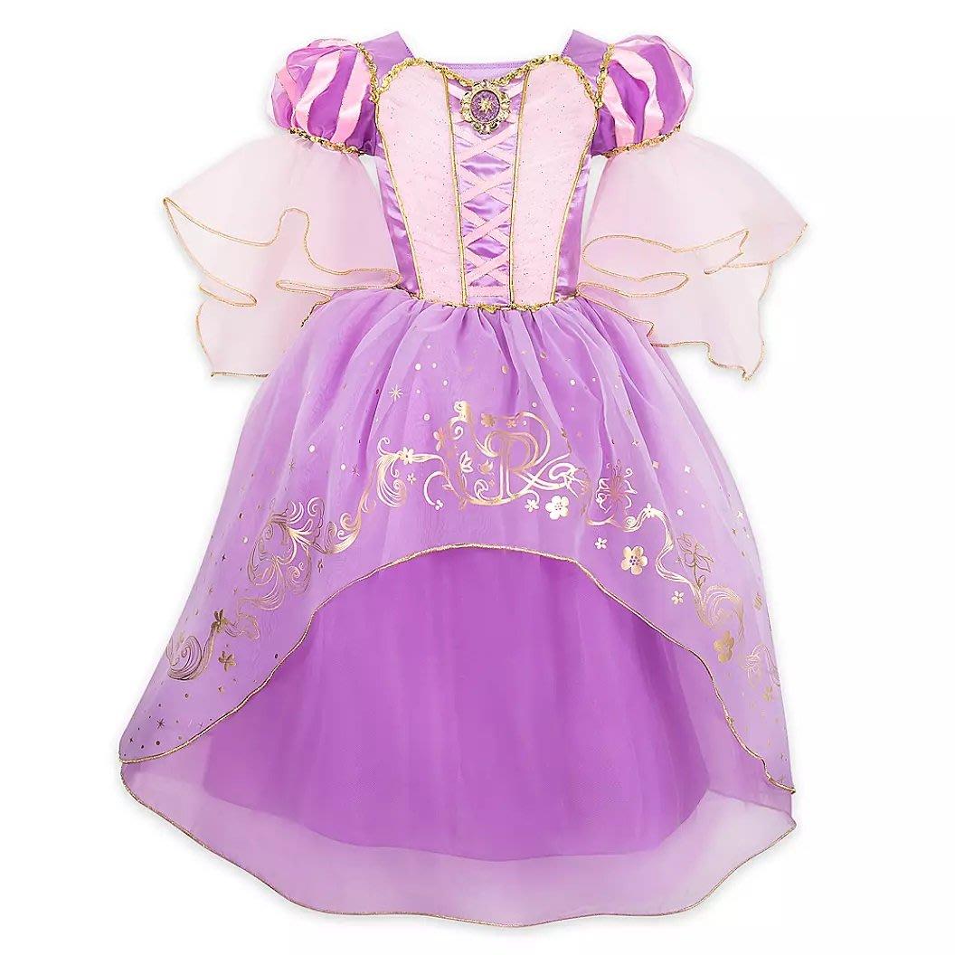 【美國大街】正品.美國迪士尼長髮公主裝 長髮公主裙子 樂佩裝 樂佩裙子 長髮公主萬聖節裝 樂佩萬聖節裝