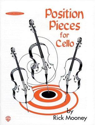 【599免運費】Position Pieces for Cello Book 1 Alfred 00-0762
