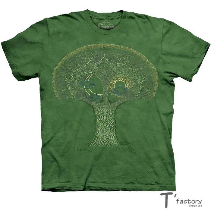 【線上體育】The Mountain 短袖T恤 L號 奇特樹