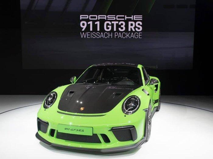 國豐動力 Porsche GT3 RS 991 911 GT3 GT3RS TURBO 副廠碳纖維引擎蓋 新品 現貨
