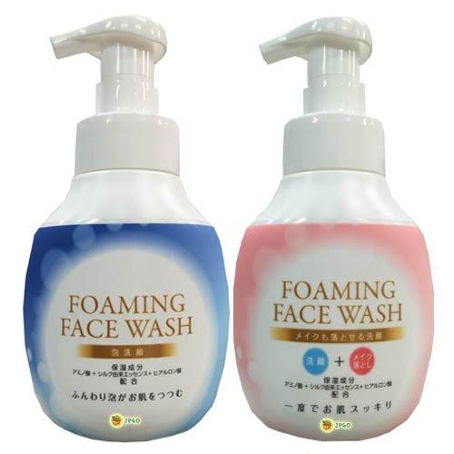 【JPGO】預購-日本製 Rocket Soap FOAMING 泡沫洗面乳 250ml~藍瓶#382 粉瓶#399